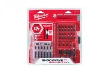 Assortimento bits MILWAUKEE SHOCKWAVE | Assortimento inserti e chiavi per avvitatori