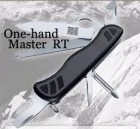 Coltello VICTORINOX 0.8441.L10 ONE HAND | Coltello con 11 funzioni disponibili